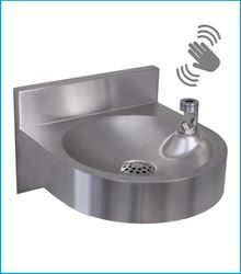 *Coming Soon* FONT10BCL Wall-Mounted Fountain With Contact-Less Bubbler