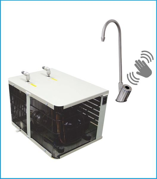 *Coming Soon*  UC800MCL  Undersink Chiller With Contactless  Swan Neck Tap